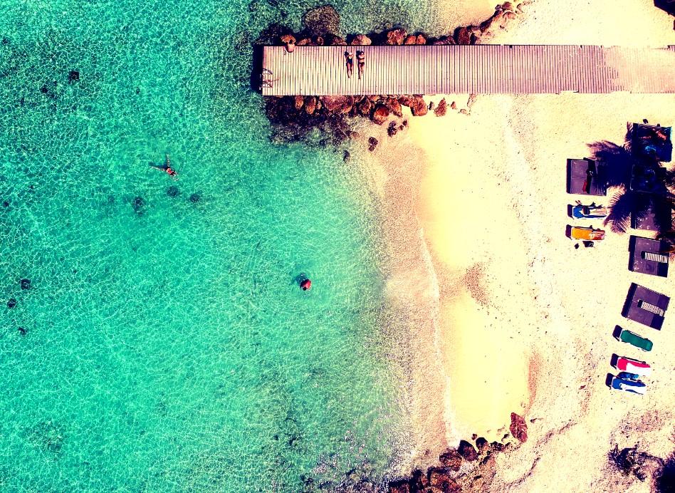 Curaçao Tech Meetups | Porto Marie Beach